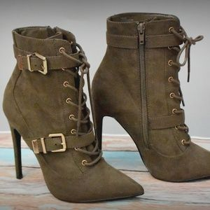 Carlita Bootie  boots -stiletto